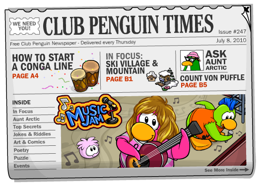 Club Penguin Times Isse #247 « Club Penguin Cheats